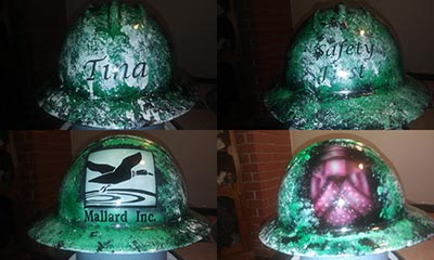 mallard inc drillbit hard hat