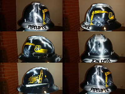pipeliner storm hard hat