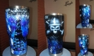custom yeti tumbler oilfield trash
